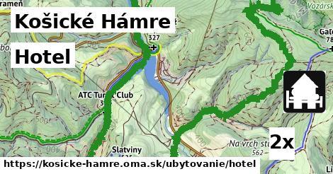 hotel v Košické Hámre