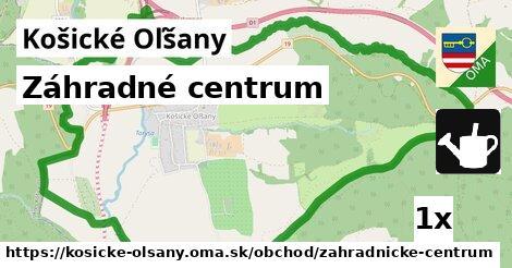 záhradné centrum v Košické Oľšany