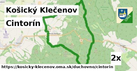 ilustračný obrázok k Cintorín, Košický Klečenov
