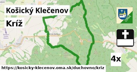 ilustračný obrázok k Kríž, Košický Klečenov