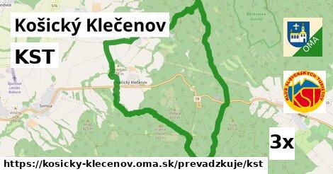 ilustračný obrázok k KST, Košický Klečenov