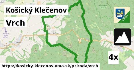 ilustračný obrázok k Vrch, Košický Klečenov