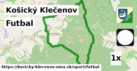 ilustračný obrázok k Futbal, Košický Klečenov