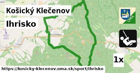 ilustračný obrázok k Ihrisko, Košický Klečenov