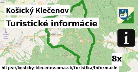 ilustračný obrázok k Turistické informácie, Košický Klečenov