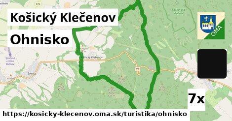 ilustračný obrázok k Ohnisko, Košický Klečenov