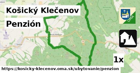 ilustračný obrázok k Penzión, Košický Klečenov