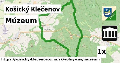 ilustračný obrázok k Múzeum, Košický Klečenov