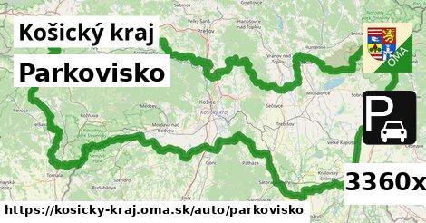 parkovisko v Košický kraj