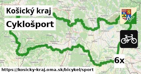 cyklošport v Košický kraj