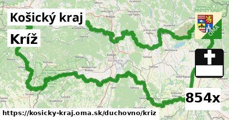 ilustračný obrázok k Kríž, Košický kraj