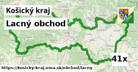 lacný obchod v Košický kraj