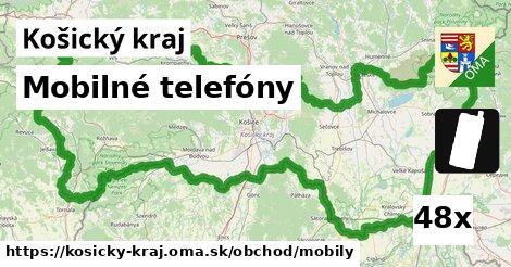 mobilné telefóny v Košický kraj