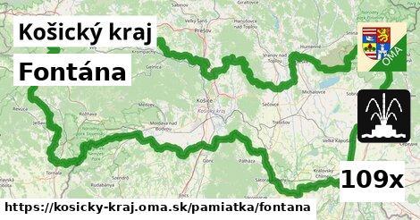 ilustračný obrázok k Fontána, Košický kraj