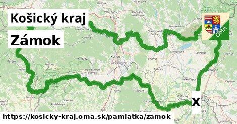 ilustračný obrázok k Zámok, Košický kraj