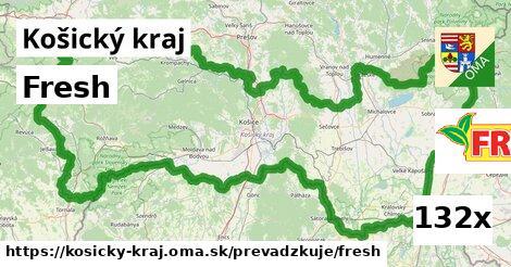 Fresh v Košický kraj