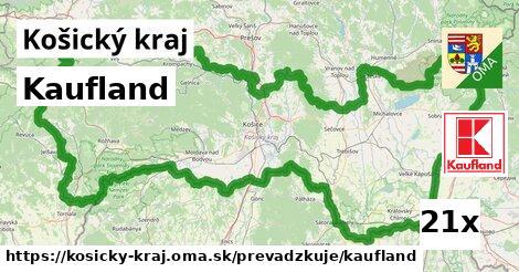 ilustračný obrázok k Kaufland, Košický kraj