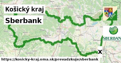 ilustračný obrázok k Sberbank, Košický kraj