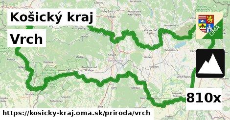 ilustračný obrázok k Vrch, Košický kraj