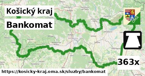 ilustračný obrázok k Bankomat, Košický kraj