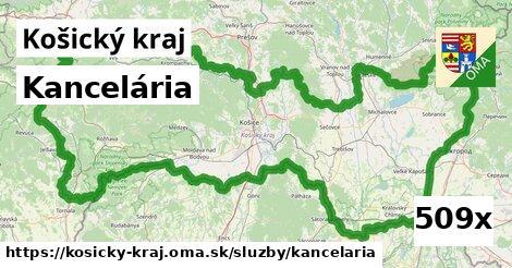 kancelária v Košický kraj
