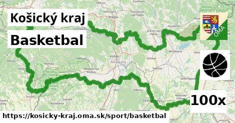 ilustračný obrázok k Basketbal, Košický kraj