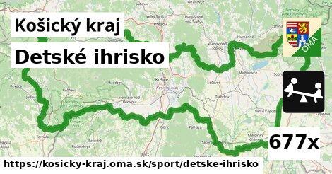 ilustračný obrázok k Detské ihrisko, Košický kraj