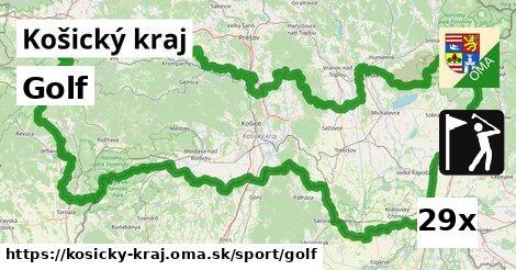golf v Košický kraj