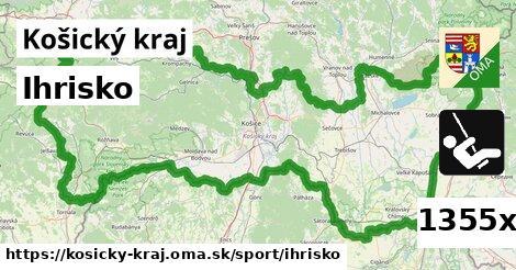 ihrisko v Košický kraj