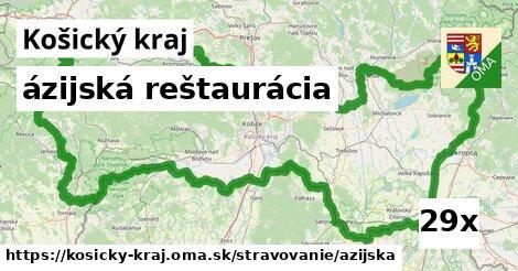 ázijská reštaurácia v Košický kraj
