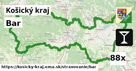 bar v Košický kraj