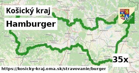 hamburger v Košický kraj