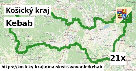 ilustračný obrázok k Kebab, Košický kraj