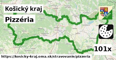 ilustračný obrázok k Pizzéria, Košický kraj