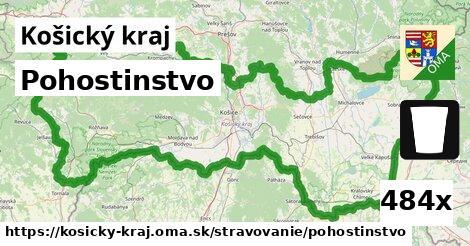 ilustračný obrázok k Pohostinstvo, Košický kraj