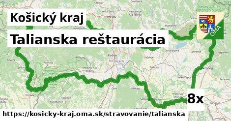 ilustračný obrázok k Talianska reštaurácia, Košický kraj