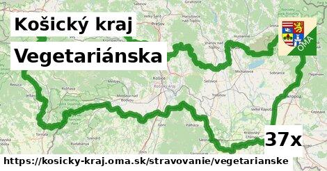 ilustračný obrázok k Vegetariánska, Košický kraj