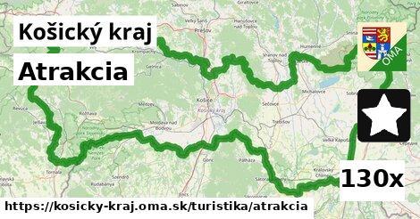 ilustračný obrázok k Atrakcia, Košický kraj