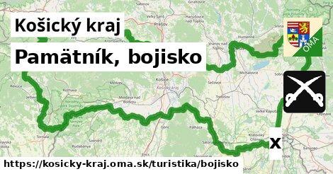 ilustračný obrázok k Pamätník, bojisko, Košický kraj