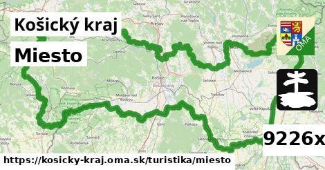 ilustračný obrázok k Miesto, Košický kraj