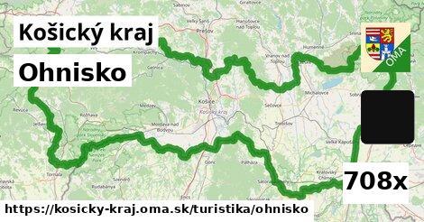 ohnisko v Košický kraj
