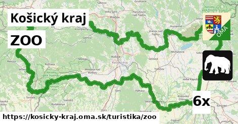 ilustračný obrázok k ZOO, Košický kraj