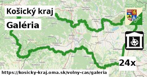 ilustračný obrázok k Galéria, Košický kraj