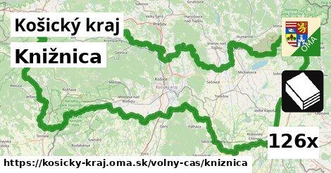 ilustračný obrázok k Knižnica, Košický kraj