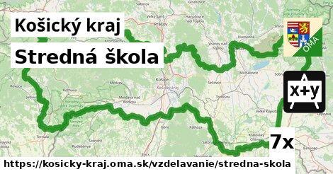 ilustračný obrázok k Stredná škola, Košický kraj