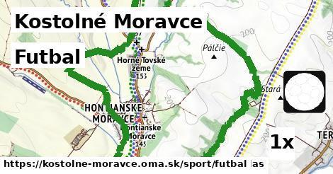 ilustračný obrázok k Futbal, Kostolné Moravce