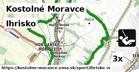 ilustračný obrázok k Ihrisko, Kostolné Moravce