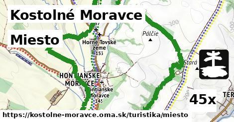 ilustračný obrázok k Miesto, Kostolné Moravce