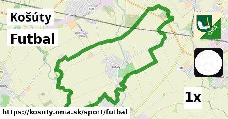 ilustračný obrázok k Futbal, Košúty