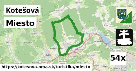 ilustračný obrázok k Miesto, Kotešová